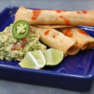 Flautas (or Taquitos) and Guacamole with Hilah Cooking
