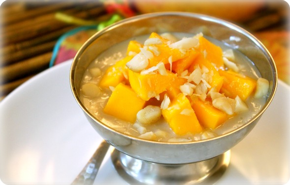 Mango Coconut Rice Pudding Recipe - Average Betty