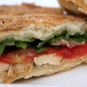 Grilled Chicken Pressed Sandwich Recipe
