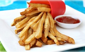 Crispy French Fries - averagebetty.com