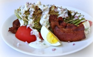 Grilled Wedge Salad - averagebetty.com