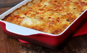 Pimento Cheese Potato Gratin - averagebetty.com