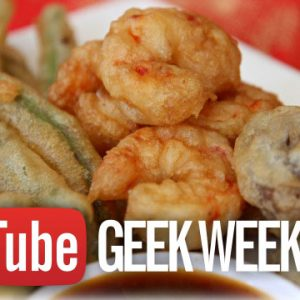 Tempura for Catwoman Video – YouTube #GeekWeek