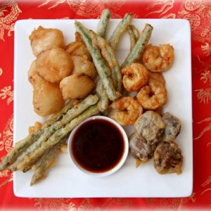 Super Easy Tempura and Dipping Sauce Recipe