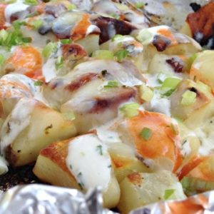 Buffalo Ranch Packet Potatoes Recipe