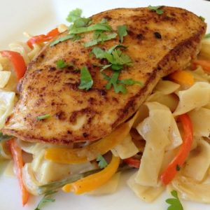 Spicy Chicken Alfredo Recipe