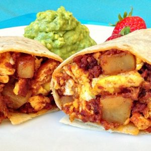 Potato Chorizo Burrito Recipe
