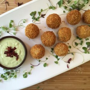 California Avocado and Hemp Seed Arancini Recipe