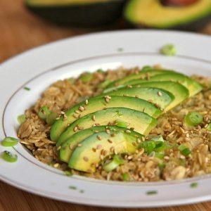 California Avocado Oatmeal Recipe