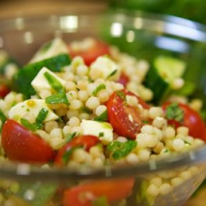 Russ Parsons' Israeli Couscous Summer Salad Recipe
