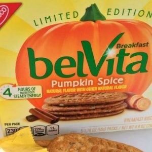 belVita Pumpkin Spice Breakfast Biscuits