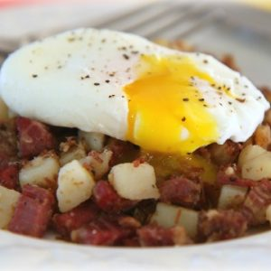 Corned Beef Hash Recipe Video