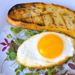How to Make Eggs on the Grill Recipe Video