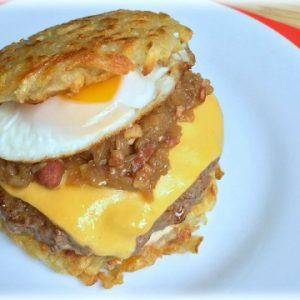 Hash Brown Burger Recipe Video