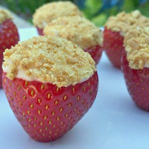 Strawberry Cheesecake Bites Recipe Video