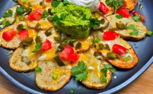 Potato Nachos - AverageBetty.com