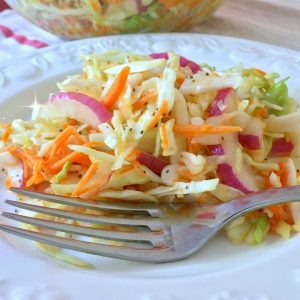 Carolina Coleslaw Recipe Video