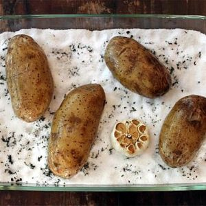 Salt Baked Potato - Averagebetty.com
