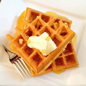 Quick and Easy Waffles - AverageBetty.com